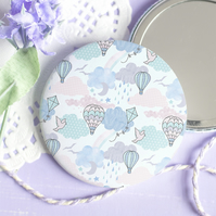 Every Cloud Pocket Mirror