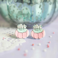 Pin Cushion Earrings