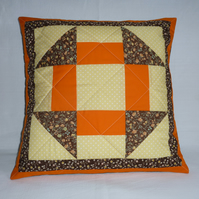 Bright Churn Dash Cushion