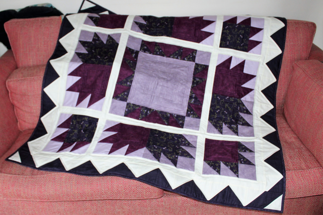 Bears Paw Patchwork Throw
