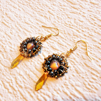 Stunning Hand Made Earrings -  FREE UK Post