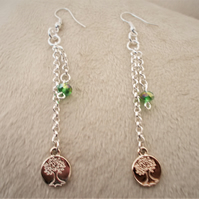 Dainty Tree of Life Earrings - FREE UK Post