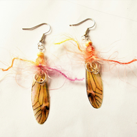 On Gossamer Wings Earrings - FREE UK post