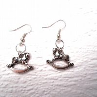 Rockinghorse Earrings - FREE UK post