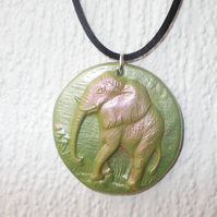 Elephant Pendant Necklace Yoga FREE UK Post