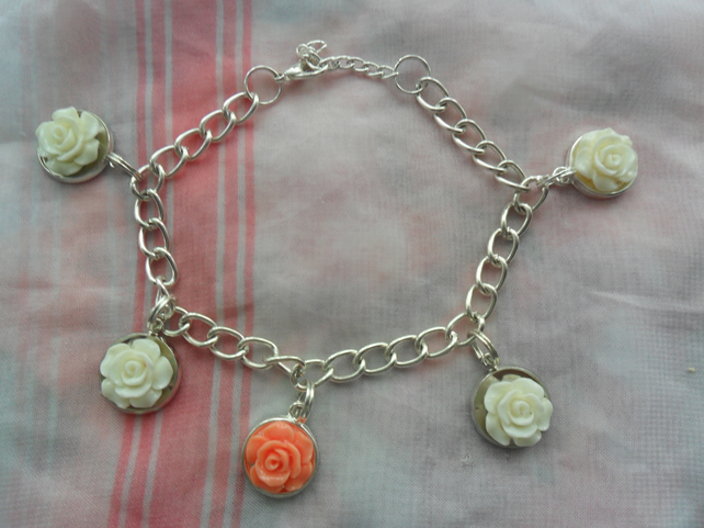 Beautiful flowered Bracelet for special  gift