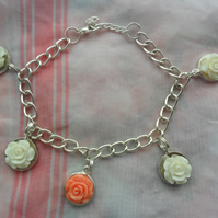 Beautiful flowered Bracelet for special christmas gift