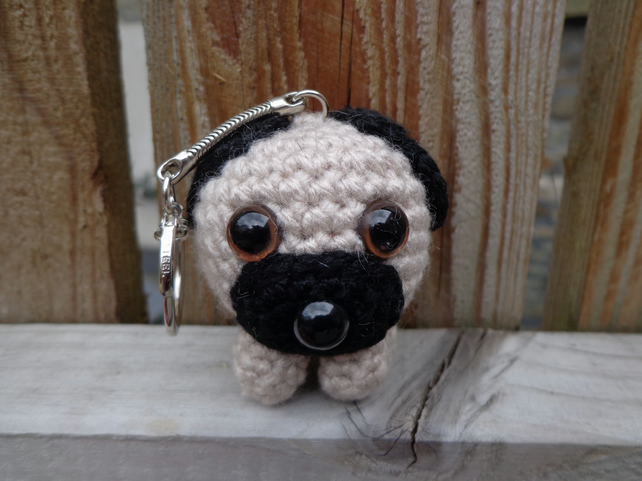 AMIGURUMI PATTERN/ tutorial English Amigurumi Pug Dog | Etsy | 482x642
