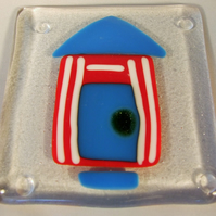 Chubby beach hut coaster (slight second)