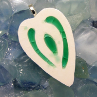 Light Green Heart Pendant