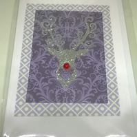 Christmas Stag Card Pack A
