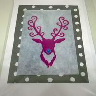 Christmas Stag Cards Pack D