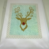 Christmas Stag Cards Pack F
