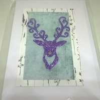Christmas Stag Cards Pack C