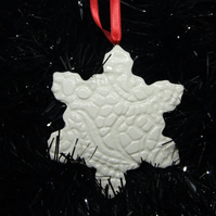 Large Lace Design Snowflake