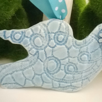 Lace Dove, Turquoise 1