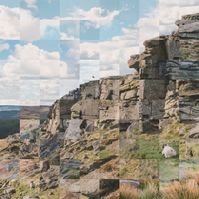 Medium Stanage Edge Collage
