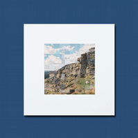 Small Stanage Edge Collage