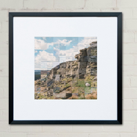 Large Stanage Edge Collage