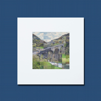 Small Monsal Head Collage Print