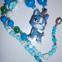 Bubblegum Style Little pet shop necklace,Cake Smash Necklace