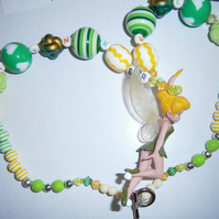 Tinkerbell  or friends chunky necklace,Cake smash, photo props