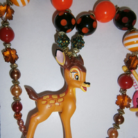 Bambi necklace,Cake Smash Necklace