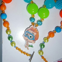 NONNY bubble guppie  chunky necklace