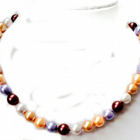 Woman,Wedding,Mother of the Bride, Elegant 10mm South sea shell pearl necklace