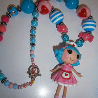 Lalaloopsy, Nurse Chunky Bubblegum Necklace, Kawaii