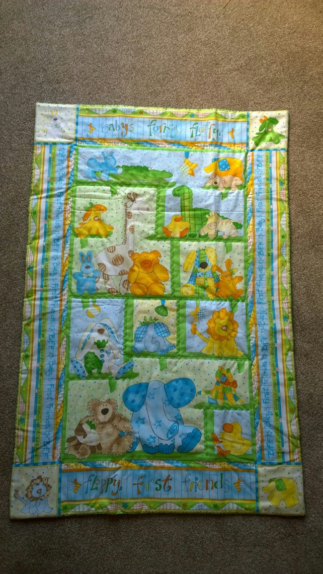 Babys First Friends Quilt