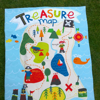 Treasure Map quilt