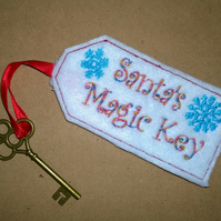 Father Christmas Santa's key