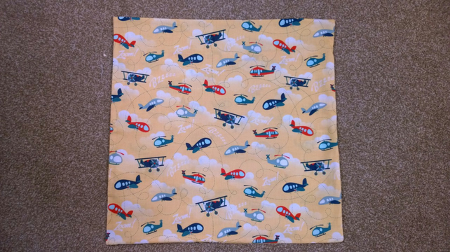 Planes  Helicopter Cushion Cover