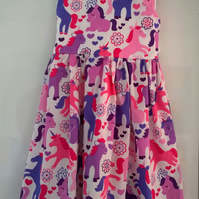 Ponies and Unicorn Dress