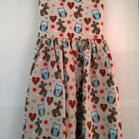 Owl and Reindeer Dress