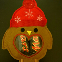 Robin Christmas Treat Decoration