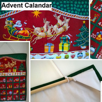 Advent Calendar with 24 pockets