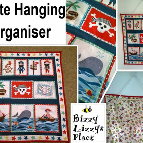 Pirate Hanging Organiser