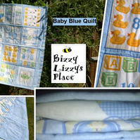 Baby Blue Quilt