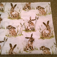 Hare Cushion Cover .