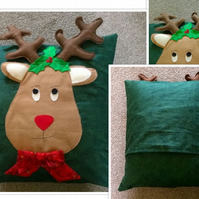 Reindeer Cushion Cover