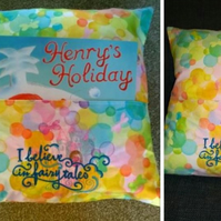 Story Book Cushion Cover - I believe in fairytales