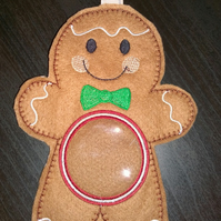 Gingerbread Boy Christmas Treat Decoration