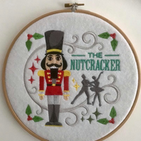 Hooped Embroidered Nutcracker