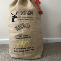Personalised Santa Sack