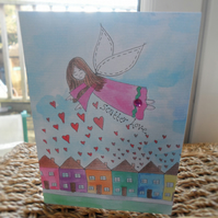 Angel Greetings Card