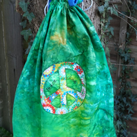 Hippy laundry bag