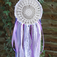 Dream Catcher with ribbon and Lace
