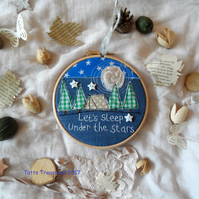 Hoop Art Camping Theme